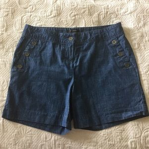 The Limited Sailor Shorts Size 8 100% Cotton